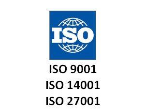 Prestiżowe certyfikaty ISO przyznawane przez Euro Veritas